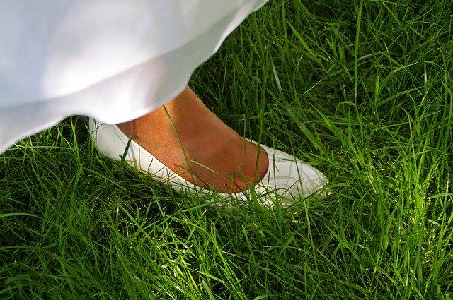 נעלי כלה נמוכות